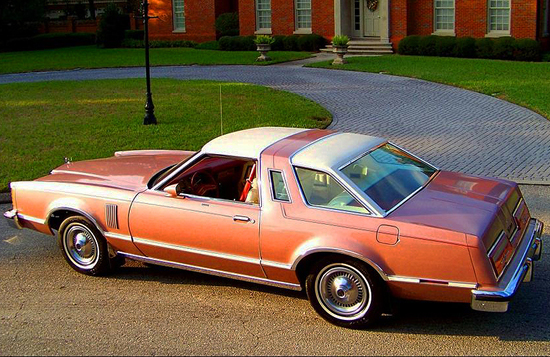 "3rd place at 47.6%  1977-79 Ford Thunderbird coupe (length 217.7"", wheelbase 114"")"
