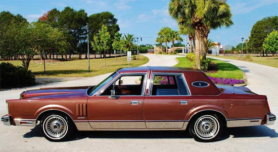 "9th place (2-way tie at 46.4%) 1980-83 Lincoln Mark VI sedan (length 219.2"", wheelbase 117.4"")"