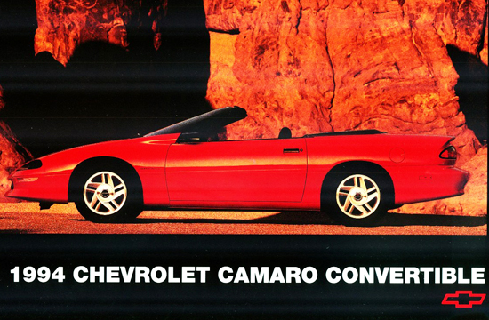 "2nd place (3-way tie at 47.7%) 1993-2002 Chevrolet Camaro (length 193.2"", wheelbase 101.1"")"