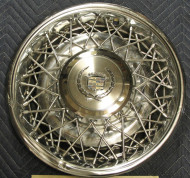 cadillac, wire wheel covers