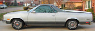 1986, chevrolet, el camino, wire wheel covers