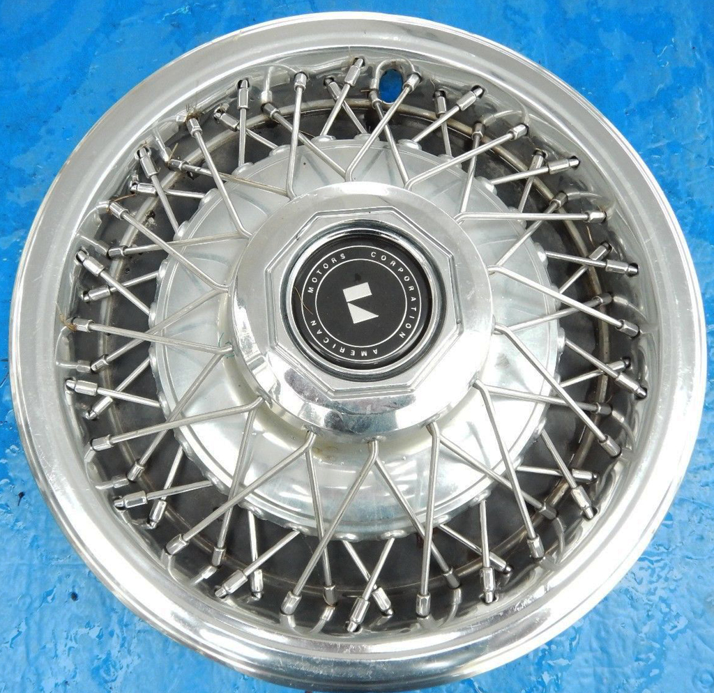 1981, amc, american motors, wire wheel covers