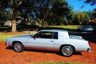 1984, cadillac, eldorado, wire wheel covers