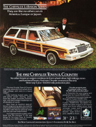 1982, chrysler, town & country, lebaron