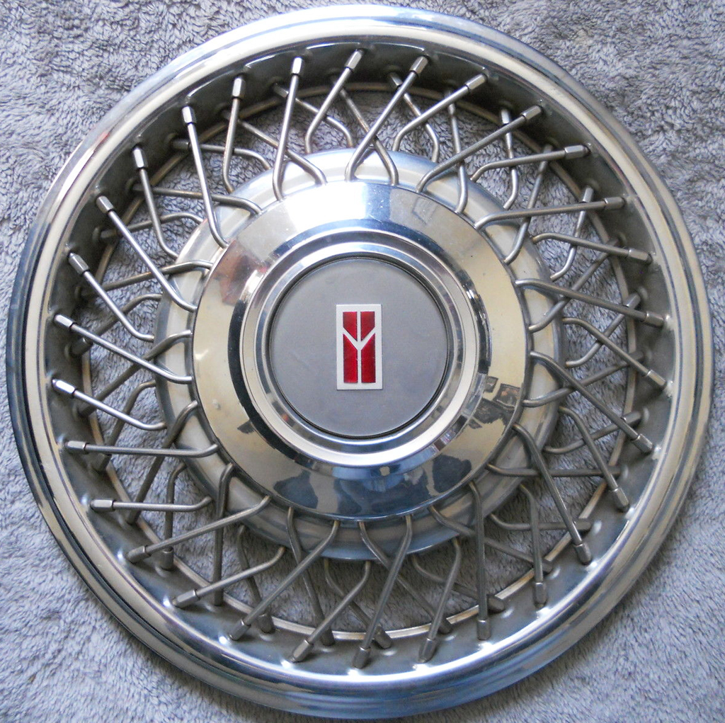 oldsmobile, 98, 88, wire wheel cover