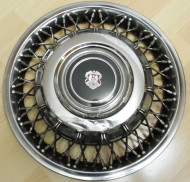 Oldsmobile created this 14-inch version of the FWD wire wheel cover for the smaller Toronado models redesigned for 1986.