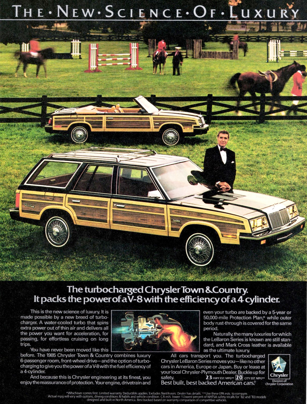 Town And Country Ad >> 1985 Chrysler Lebaron Town Country Ad Classic Cars Today Online