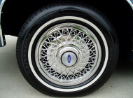 1991, ford, ltd, wire wheel cover