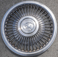 1989, mercury, cougar, wire wheel cover