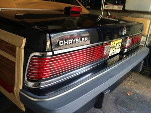 1986 Chrysler LeBaron tail lights | CLASSIC CARS TODAY ONLINE 1986 Chrysler Lebaron Town And Country