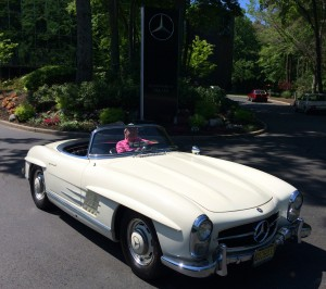 1959 mercedes 300sl at the 2014 june jamboree in montvale for Mercedes benz montvale nj