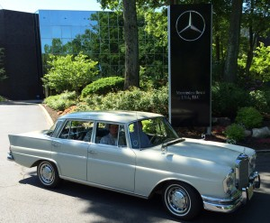 1963 mercedes 220se at the 2014 june jamboree in montvale for Mercedes benz montvale nj