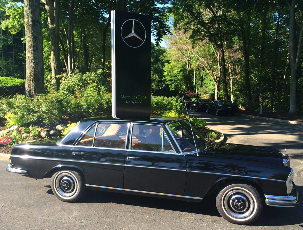 1967 mercedes 250se at the 2014 june jamboree in montvale for Mercedes benz montvale nj