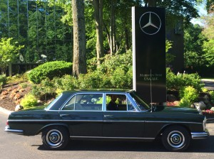 1967 mercedes 300sel at the 2014 june jamboree in montvale for Mercedes benz montvale nj