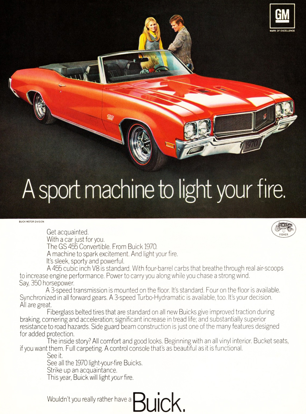Buick Gs Convertible Ad on 1968 Buick Lesabre