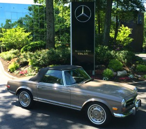 1971 mercedes 280sl at the 2014 june jamboree in montvale for Mercedes benz montvale nj