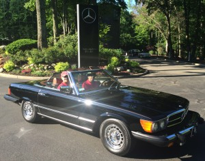 1976 mercedes 450sl at the 2014 june jamboree in montvale for Mercedes benz montvale nj