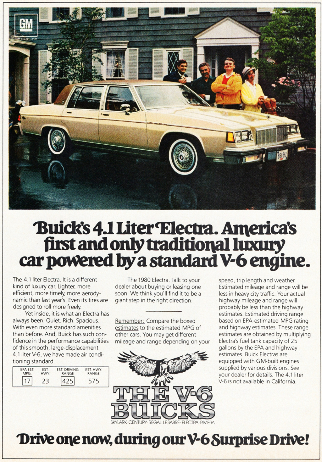 Buick Electra Ad
