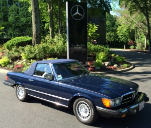 1982 mercedes 380sl at the 2014 june jamboree in montvale for Mercedes benz montvale nj