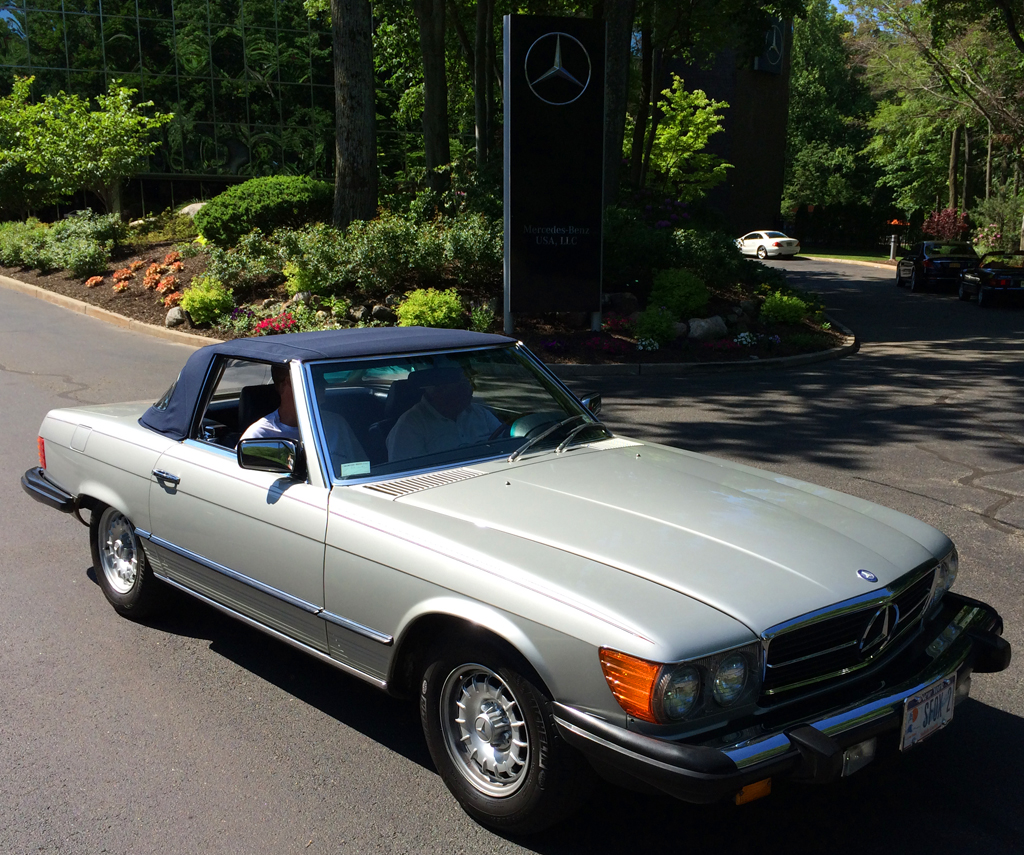 1984 mercedes 380sl at the 2014 june jamboree in montvale for Mercedes benz montvale nj