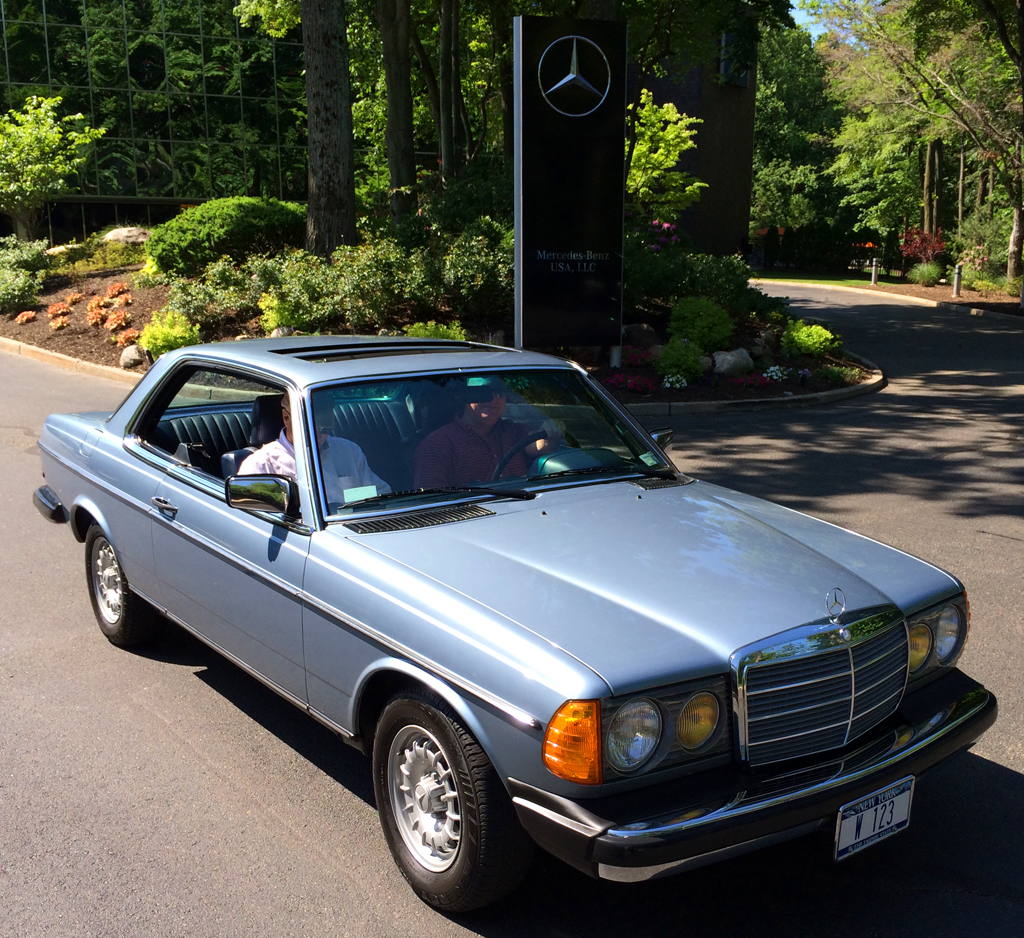 1985 mercedes 300cd at the 2014 june jamboree in montvale for Mercedes benz montvale nj