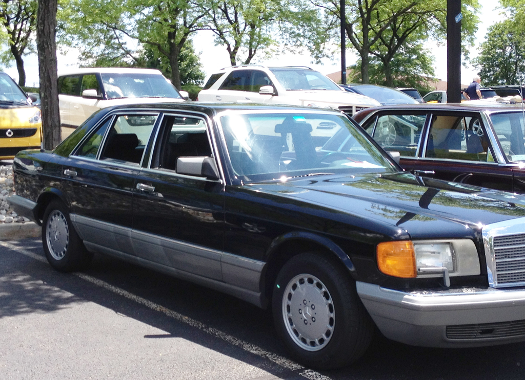 1987 mercedes 560sel at the 2014 june jamboree in montvale for Mercedes benz montvale nj
