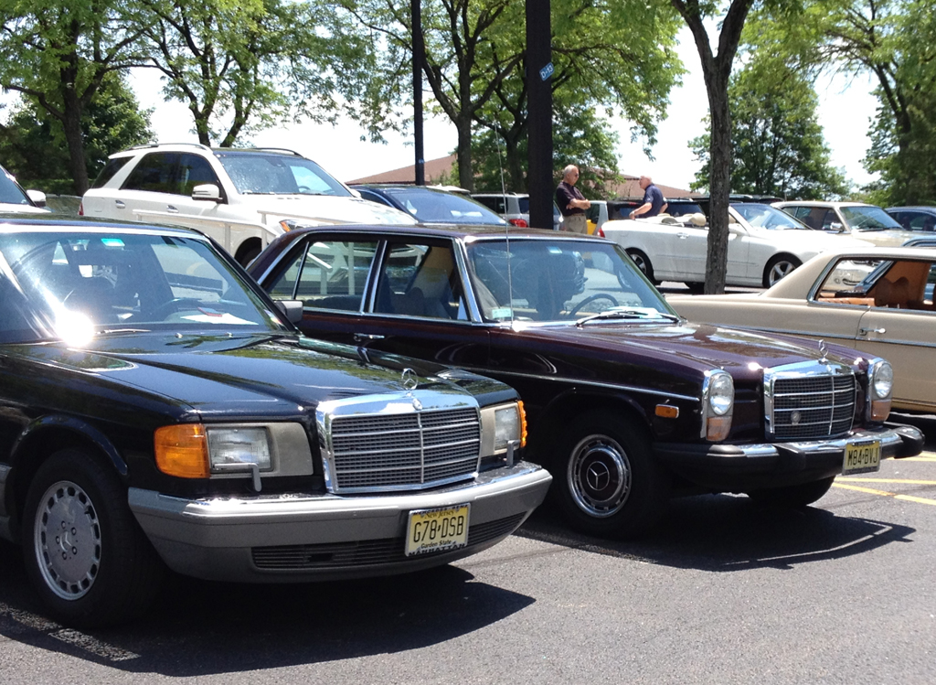 1987 MERCEDES 560SEL and 1974 240D