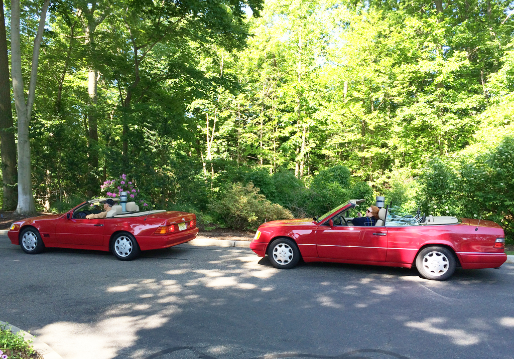 1995 Mercedes Sl320 And E320 At The 2014 June Jamboree In