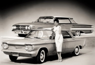 1960, chevrolet, corvair, impala