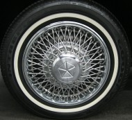 chrysler wire wheel cover