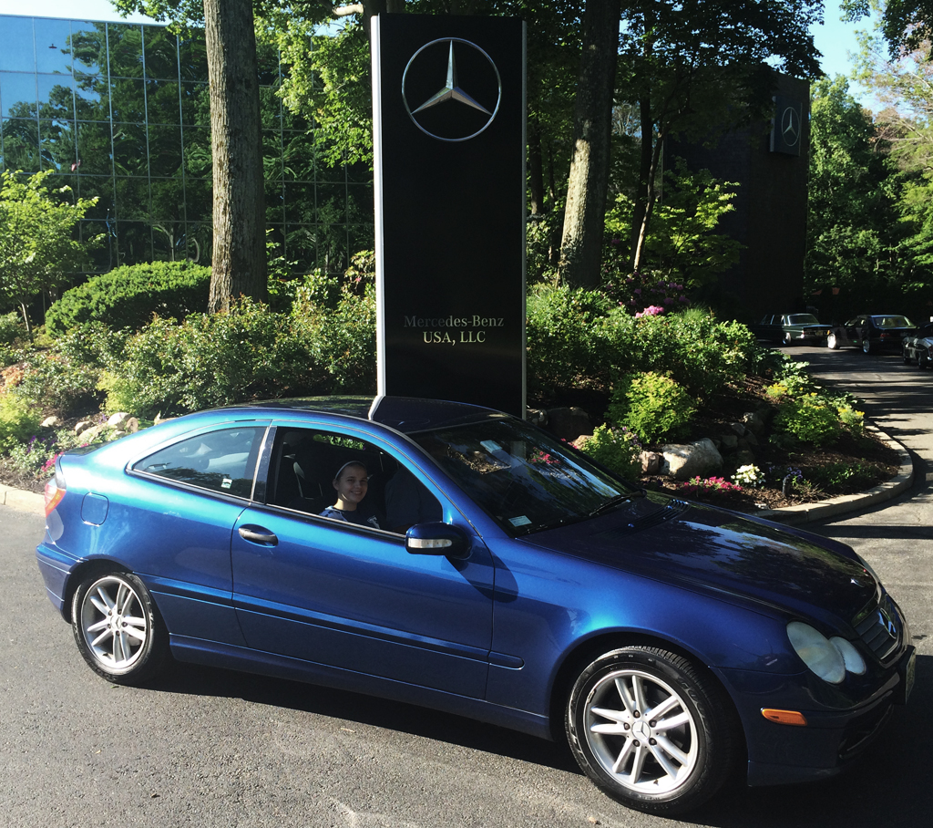 2002 mercedes c230 sport coupe at the 2014 june jamboree for Mercedes benz montvale nj