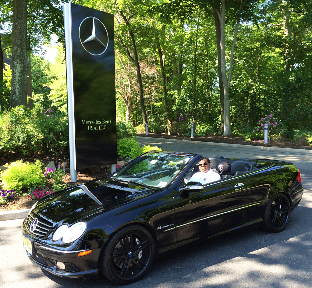 2005 mercedes clk55 amg cabriolet at the 2014 june for Mercedes benz montvale nj