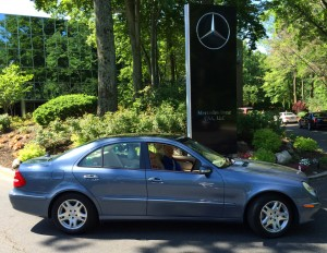 2005 mercedes e320 at the 2014 june jamboree in montvale for Mercedes benz montvale nj