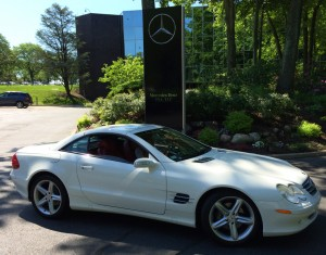 2006 mercedes sl550 at the 2014 june jamboree in montvale for Mercedes benz little silver nj