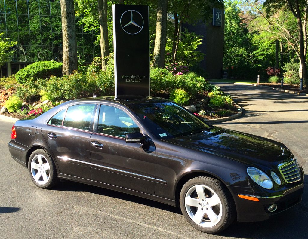 2008 mercedes e550 at the 2014 june jamboree in montvale for Mercedes benz montvale nj