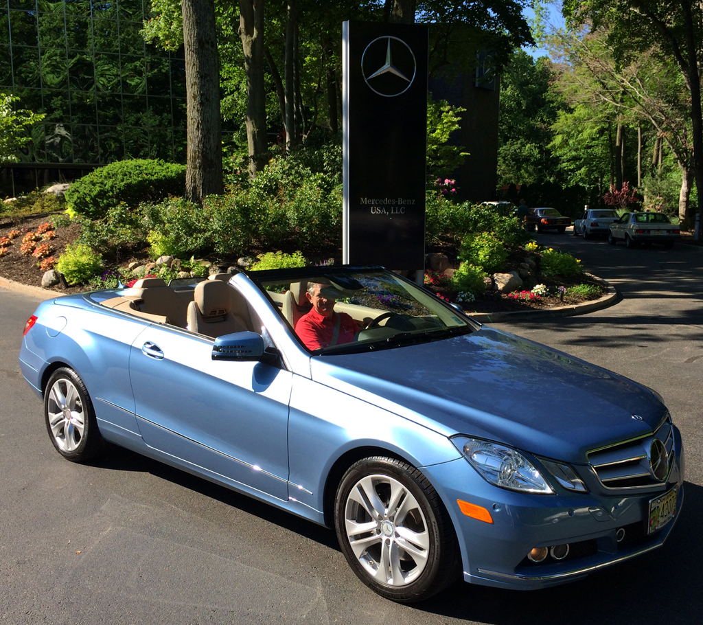 2011 e350 cabriolet at the 2014 june jamboree in montvale for Mercedes benz montvale nj