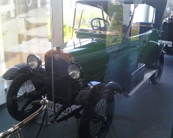 The Audi Type C of 1919.  Several years later, Audi was the first German automaker to introduce a left-hand drive version of this car.  (Photo credit: Sean Connor)