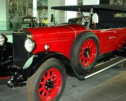 Horch AutoWerke founded by August Horch in 1899 continued on even after Mr. Horch was ousted from the company. The Horch 8 of the late 1920s was an example of the high-end luxury cars the brand was known for. The Horch brand was later united with Audi in 1932 when Auto Union was formed.  (Photo credit: Sean Connor)