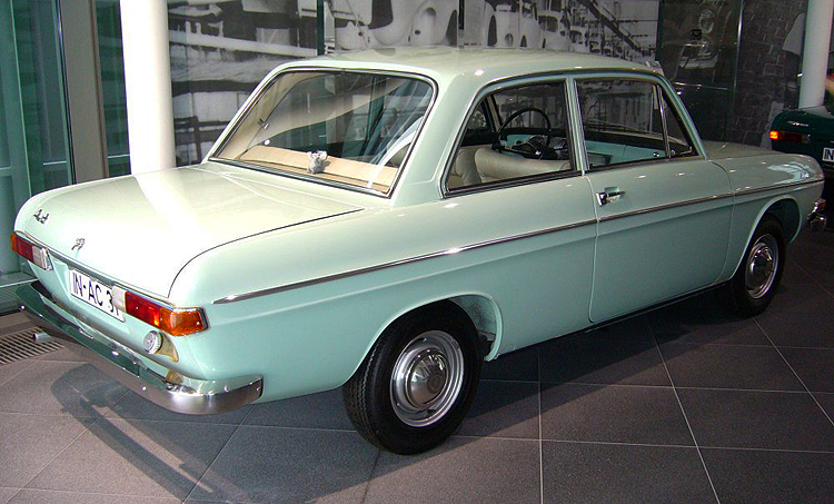 "Known as the ""72"" in Germany from 1965-69, this model was sold in the U.S. from 1970-72 in two-door and four-door versions, the Super 90 was based on a stillborn DKW model developed before Daimler-Benz sold Auto Union to Volkswagen. This was replaced by the 1973 Audi Fox. Credit: S. Connor"