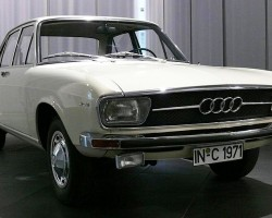 The 100 marked the return of the Audi brand producing cars of a more upscale nature. Powered by a 92-horsepower four cylinder engine driving the front wheels, a 4-speed manual was standard and a 3-speed automatic was optional. Front disc brakes were standard. When Volkswagen brought Audi to the United States for 1970, this model was known as the 100LS.  (Photo credit: Sean Connor)