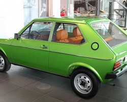 The 1975-78 Audi 50 model was created to compete in the supermini size category in Europe made popular by the original Mini Cooper. Sister to the Volkswagen Polo (sized smaller than the 1975-84 Rabbit), these were powered by four cylinder engines ranging in size from .9 liters to 1.3 liters.  The 50 was never imported to the U.S.  (Photo credit: Sean Connor)