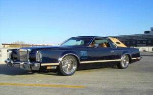 1977 Lincoln Mark V With Lowered Suspension Classic Cars Today Online