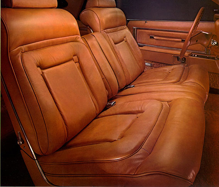 1977 Lincoln Mark V Bill Blass Edition Interior