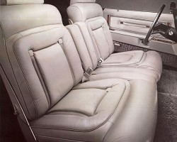 1977, Lincoln, Mark V, Cartier, interior, leather