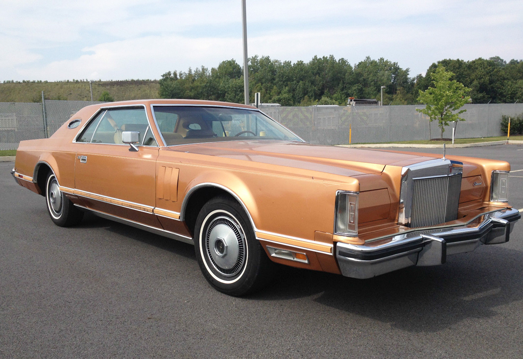 1978 lincoln mark v without vinyl roof classic cars. Black Bedroom Furniture Sets. Home Design Ideas