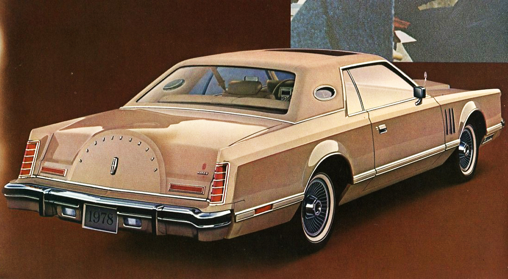 1978, Lincoln, Mark V, Cartier
