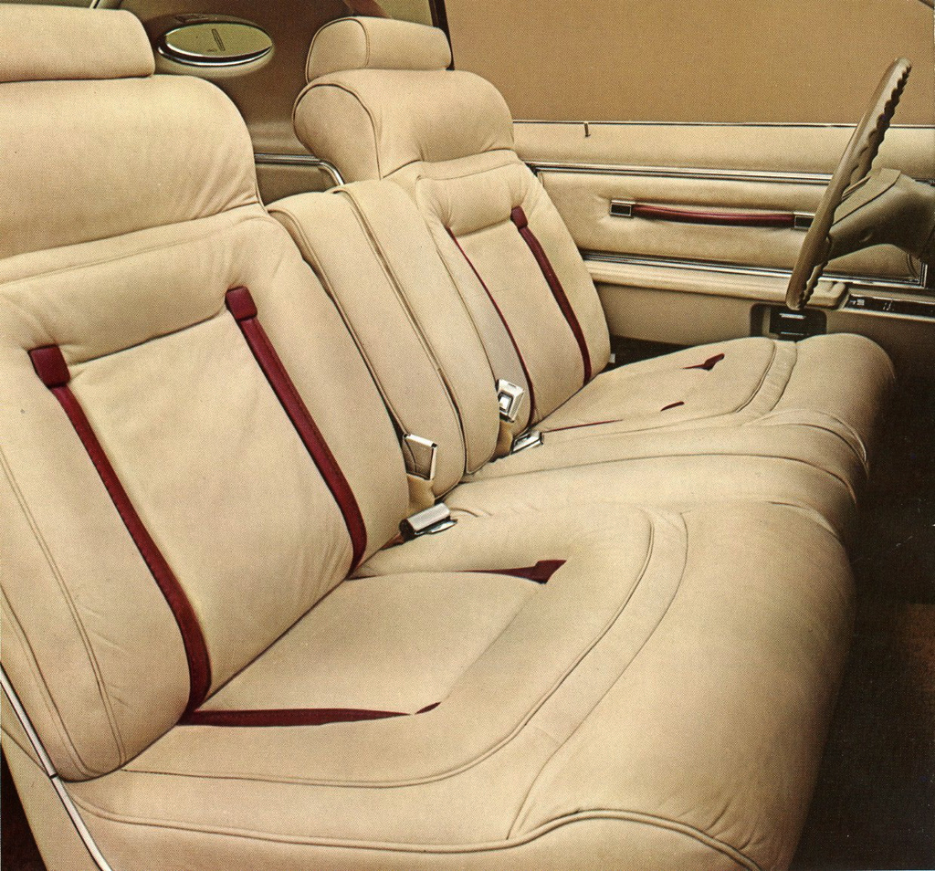 1978, Lincoln, Mark V, Cartier, interior