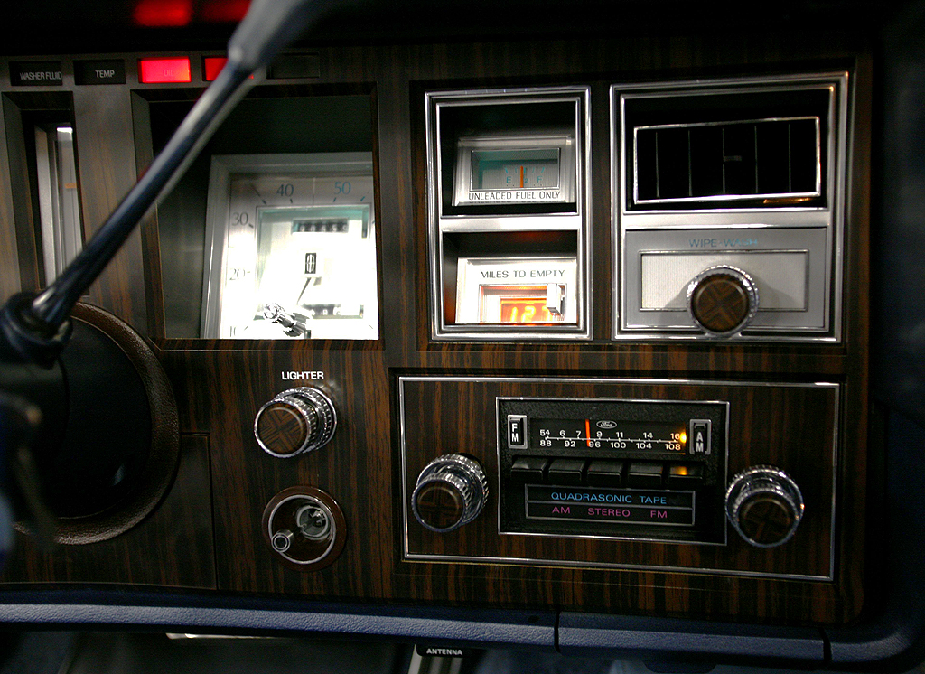 1978 Lincoln Mark V dash