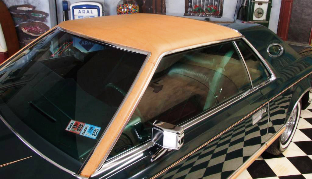 1978, Lincoln, Mark V, Givenchy, vinyl roof