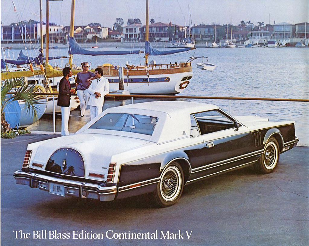 1979 lincoln mark v bill blass brochure picture classic cars today online. Black Bedroom Furniture Sets. Home Design Ideas
